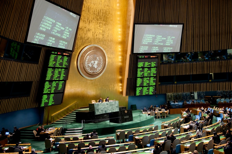 General Assembly Meets on Oceans and the Law of the Sea